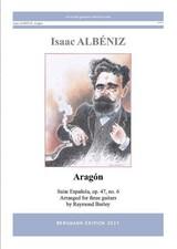 cover of Albéniz Aragón op.47, no.6