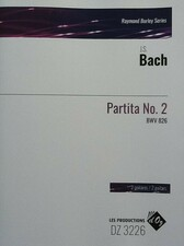 cover of Bach - Partita no.2 BWV826