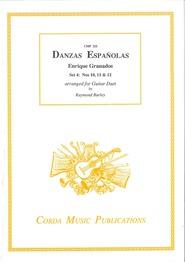 cover of Granados: Danzas Españolas set 4