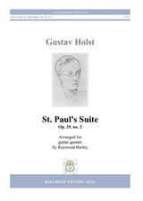 cover of Holst: St. Paul's Suite op.29, no.2