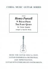 cover of Purcell: Nine Pieces from 'The Fairy Queen'