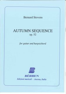 cover of Bernard Stevens: Autumn Sequence