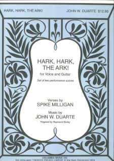 cover of John W Duarte: Hark, Hark the Ark