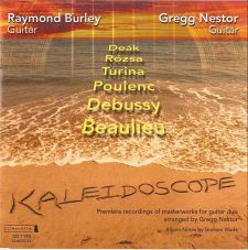cover of Kaleidoscope. With Gregg Nestor