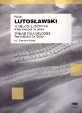 cover of Witold Lutoslawski - Twelve Folk Melodies