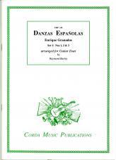 cover of Granados: Danzas Españolas set 1