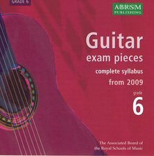 cover of ABRSM 2009 Syllabus CD Grade 6