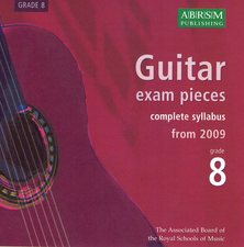 cover of ABRSM 2009 Syllabus CD Grade 8