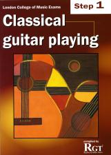 cover of Classical Guitar Playing Step 1