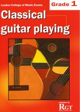cover of Classical Guitar Playing Grade 1