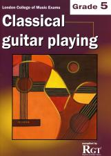cover of Classical Guitar Playing Grade 5