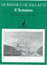 cover of Scarlatti: Eight Sonatas