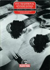 cover of Five Traditional Spanish Songs