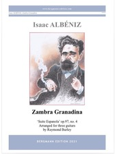cover of Albéniz: Zambra Granadina op.97, no.4