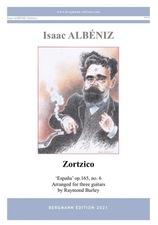 cover of Albéniz: Zortzico op.165, no.6