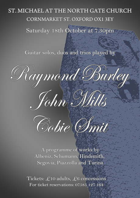 October Trio Concert Oxford