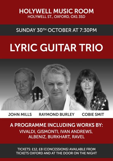 Lyric Trio at the Holywell Music Room